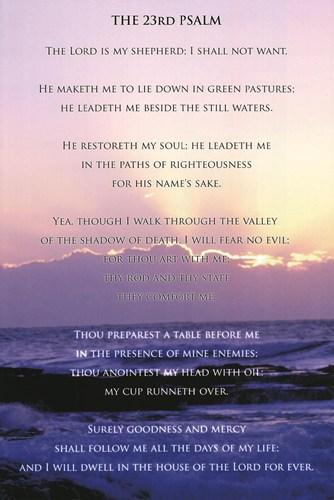 23rd-Psalm